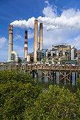 Manatee viewing center - Big Bend Power Station Florida USA ; Tampa Electric