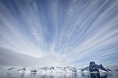 Entrance of Lemaire Channel - Antarctic Peninsula