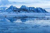 Coastal landscape - Lofoten Norway