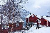 House on stilts  - Svolvaer Lofoten