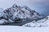Coastal landscape - Vestvågøy Lofoten Norway