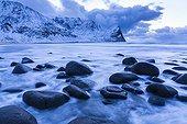 Coastal landscape - Unstad Lofoten Norway