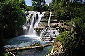 Cascade Navacelles spring - France