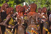 Hamer women at a ceremony - Omo valley Ethiopia