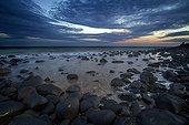 Sunset on a beach - Queensland Australia