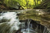 Lower Brandywine Falls at Cuyahoga Valley NP in Ohio - USA