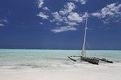 Balenciers sailboat on the beach - Zanzibar Tanzania
