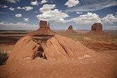 Mitten Buttes  - Monument Valley Arizona USA