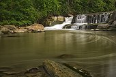 Berea Falls at Rocky River Reservation in Ohio - USA