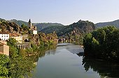 Ambialet Village in the Gorges du Tarn - France