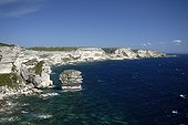 Limestone cliffs of Bonifacio - Corsica France