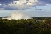 Water vapor above the Victoria Falls - Zambia / Zimbabwe