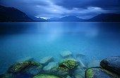 Lake Annecy at dawn - Alpes France