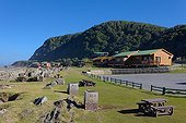 """Cottages of the Tsitsikamma National Park - South Africa  ; The """"Garden Route"""" Mossel Bay to Port Elizabeth."""