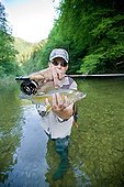 Presentation of an European Grayling fly fishing - France ; River Dessoubre