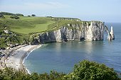 Cliffs of Etretat - France