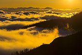 Canadas del Teide NP at dusk - Canary Islands Spain