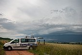 Storm Hunters in the countryside - France ; Stormy degradation of the Massif Central and Allier