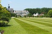 Valloires Abbey gardens