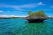 Landscape of the west coast of Cebu - Philippines