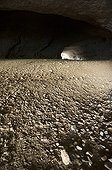 Dry bed of the underground river Cesse - France