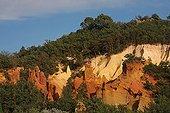 Former ocher quarry - Colorado Rustrel France