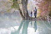 Pêche du carnassier au leurre artificiel en automne - France