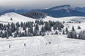 Semnoz Ski Resort - Bauges Alpes France