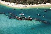 Tangalooma Wrecks - Moreton Island Australia