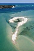 Sandbank in Moreton Bay - Australia Queensland