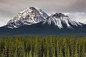 Temple Mount - Banff Alberta Canada