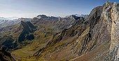 View on Vallée de Gèla - Néouvielle reserve - Pyrenees