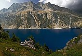 View on Lake Long - Néouvielle natural reserve - Pyrenees