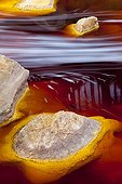 Red water loaded with Iron Rio Tinto - Andalusia Spain