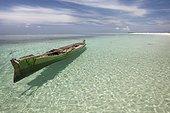 Traditional boat - Koon Island Maluku Indonesia ; Koon Marine reserve WWF-Indonesia projectTerritorial User Rights for Fishing (TURF)