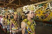 Traditional ceremony in Batu Majang Long House - Indonesia ; WWF-Indonesia