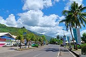 Maharepa village life pearls retail - French Polynesia