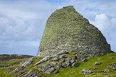 Dun Carloway broch - Isle Lewis Hebrides Scotland