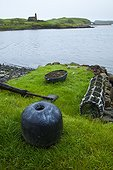 Float and fishing locker - Canna Small Islands Hebrides