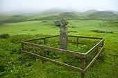 Broken cross A'Chill - Canna island Small Islands Hebrides