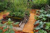 Organic vegetable garden - France