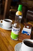 Liquid sugar and coffee - Quemchi Chiloe Island Chile