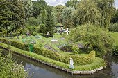 """The hortillonages """"floating gardens""""  of Amiens"""