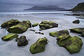 Isle of Rum from the island of Eigg - Small isles Hebrides