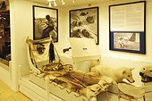 Denmark. Greenland. West coast. The Inuit museum of the village of Aasiaat.