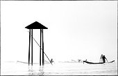 The Intha fisherman on Inle Lake