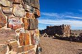 Agate house, Petrified Forest National Park, Arizona, USA, America