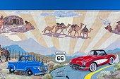 Kingman, U.S. Route 66 (US 66 or Route 66), Arizona, USA, América