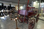 Carts and carriages, Relais Museum of horse Comte and forest, Levier , Haut-Doubs, Franche-Comté, France