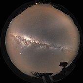 Milky Way, Nyota Observatory, Baringo Kenya